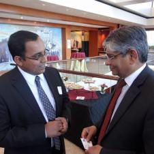 With Indian Ambassador to the US Arun Kumar Singh