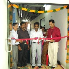 Confianz Indian Office opening with Technopark CEO Mervin Alexander